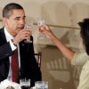 What the Obamas are drinking this holiday season