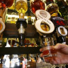 Scotch consumption in Scotland on the rocks