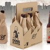 Paper-wrapped beer inspired by New York squats