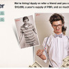 Hipster baits job applicants with $10,000 & free beer. But PBR?