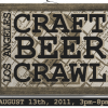 LA Craft Beer Crawl this Saturday!