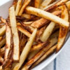 Hmmm, Hmmm Good: Garlic, Salted Beer Baked French Fries