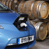 Nissan Leaf powered by… single malt scotch?! Cheers!