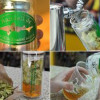 Customize your craft beer in 10 min. with handheld infuser bottle