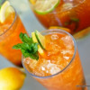 Recipe for a Delicious Way to Drink Tea. Bourbon Whisky Iced Tea