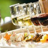 Wine tastes better with food. As it should. Here's why.