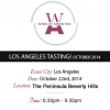 Tasting Argentina! Wine tasting at the Peninsula BH Oct 22