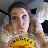 This happened. A GoPro was strapped to a liquor bottle at a wedding