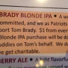 Bar Supports Tom Brady By Brewing 'Free Brady' Beer