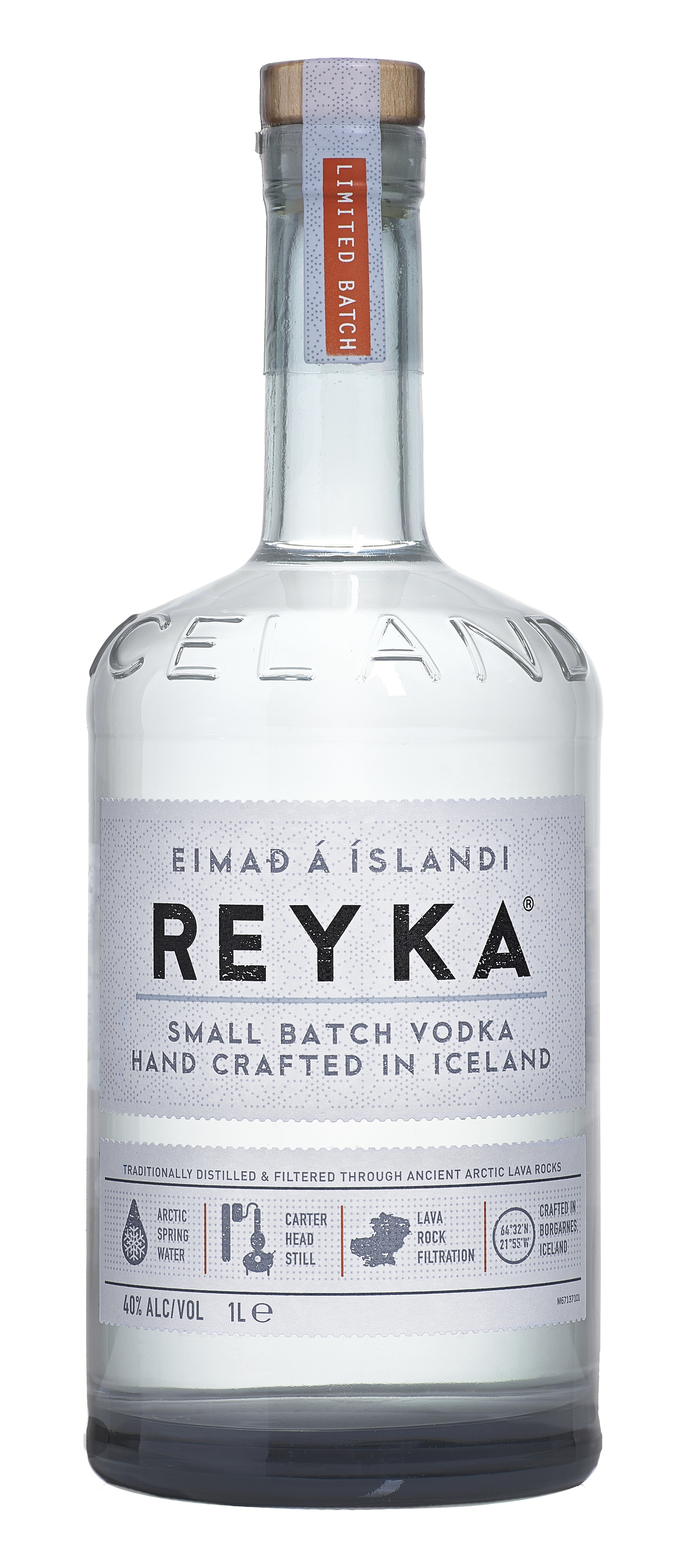Reyka Bottle
