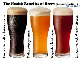Beer! Full of vitamins, high fibre, low sugar, aphrodisiac!