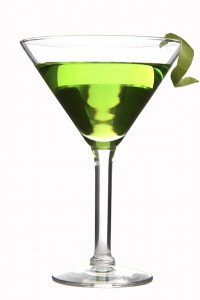 Appletini: One part vodka, two parts ridiculous.