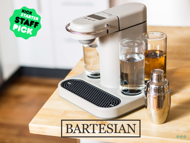 Bartesian the capsule style drink machine for your for The perfect drink mixer