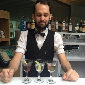 Ryan Wainwright & a wonderful Martini flight