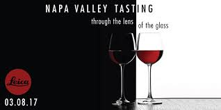"Napa Valley Vintners Tasting ""Through the Lens of the Lens of the Glass"""