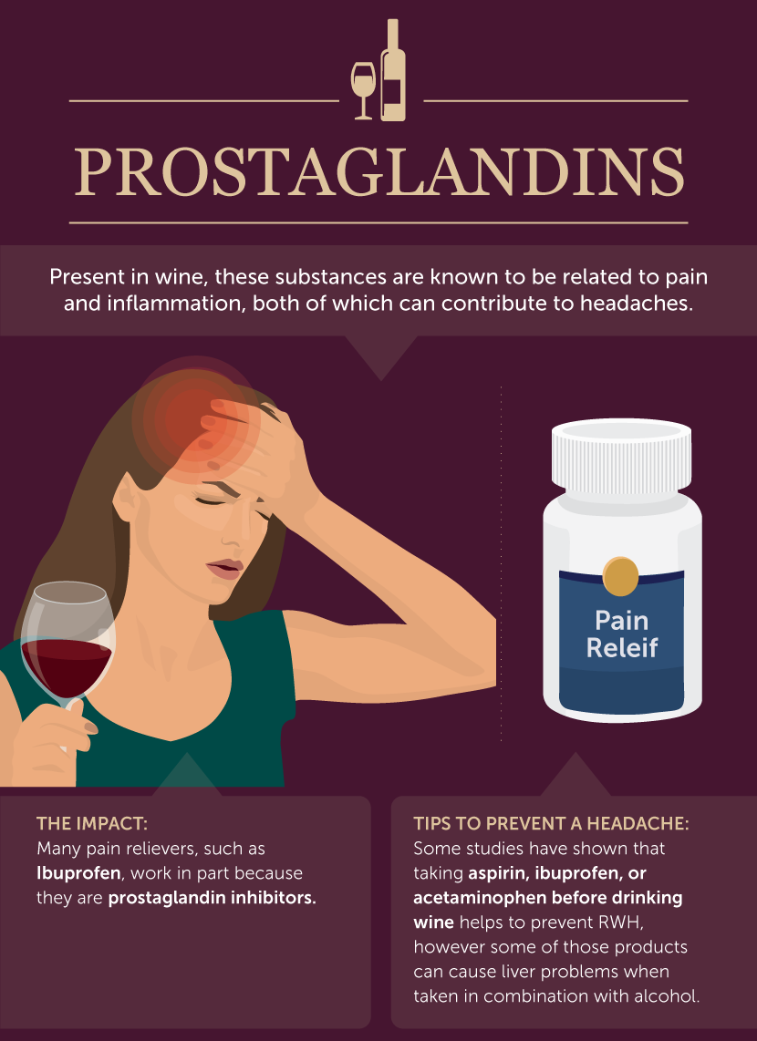 How Prostaglandins Contribute to Red Wine Headaches - What Causes Red Wine Headaches?